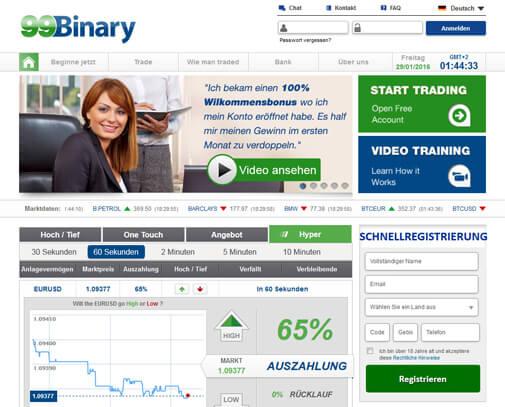 99binary erfahrungen testbericht für binäre optionen