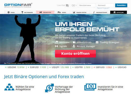 Optionfair Screenshot